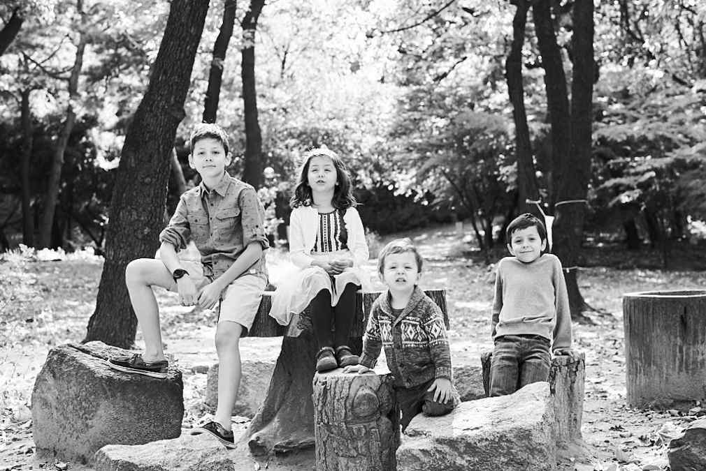 Children Photography in black and white