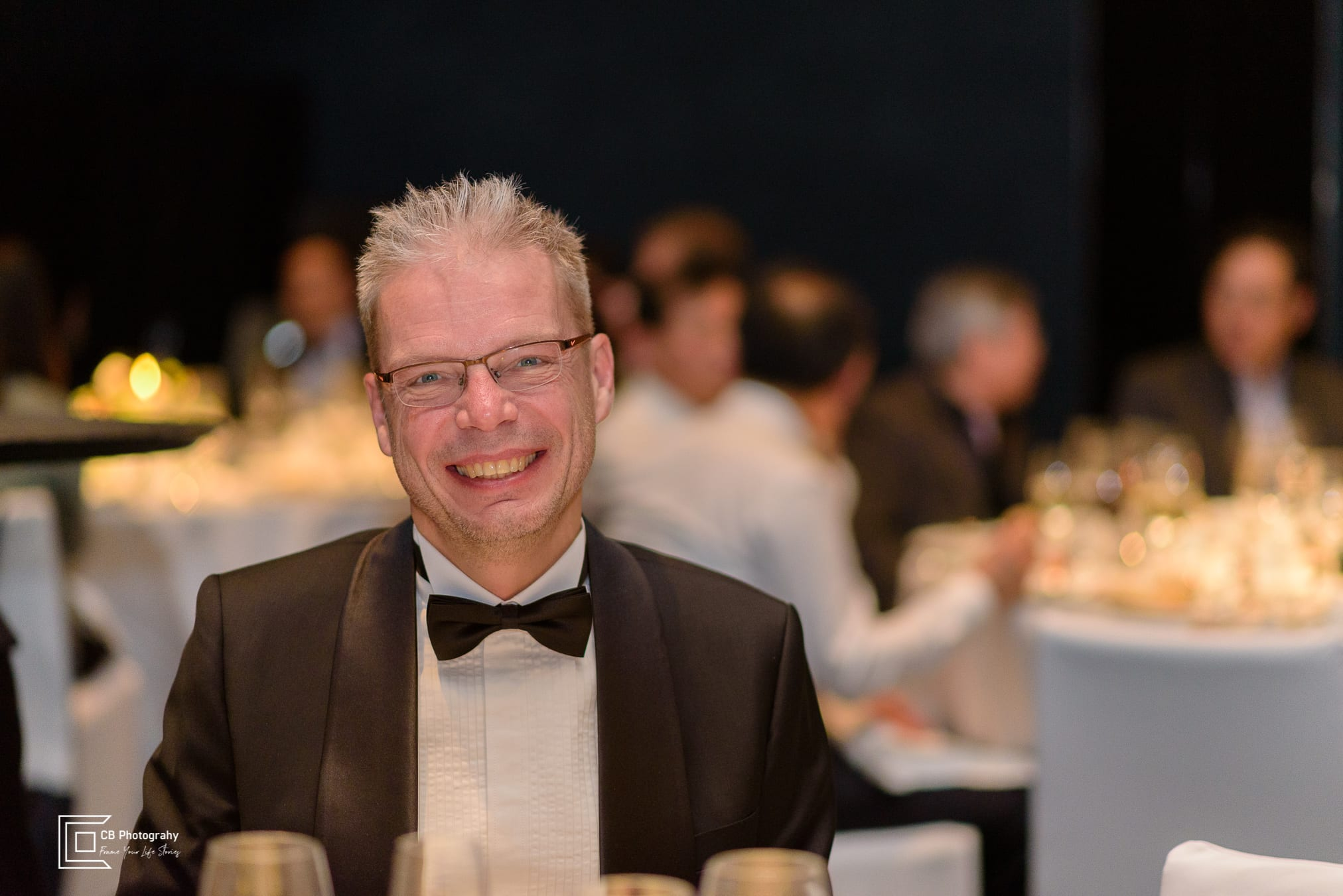 Portrait taken during a corporate event by Cristian Bucur Photographer in Tokyo