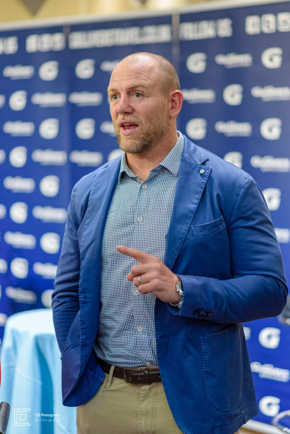 Mike Tindal during an event in Tokyo, by Cristian Bucur Photographer in Tokyo