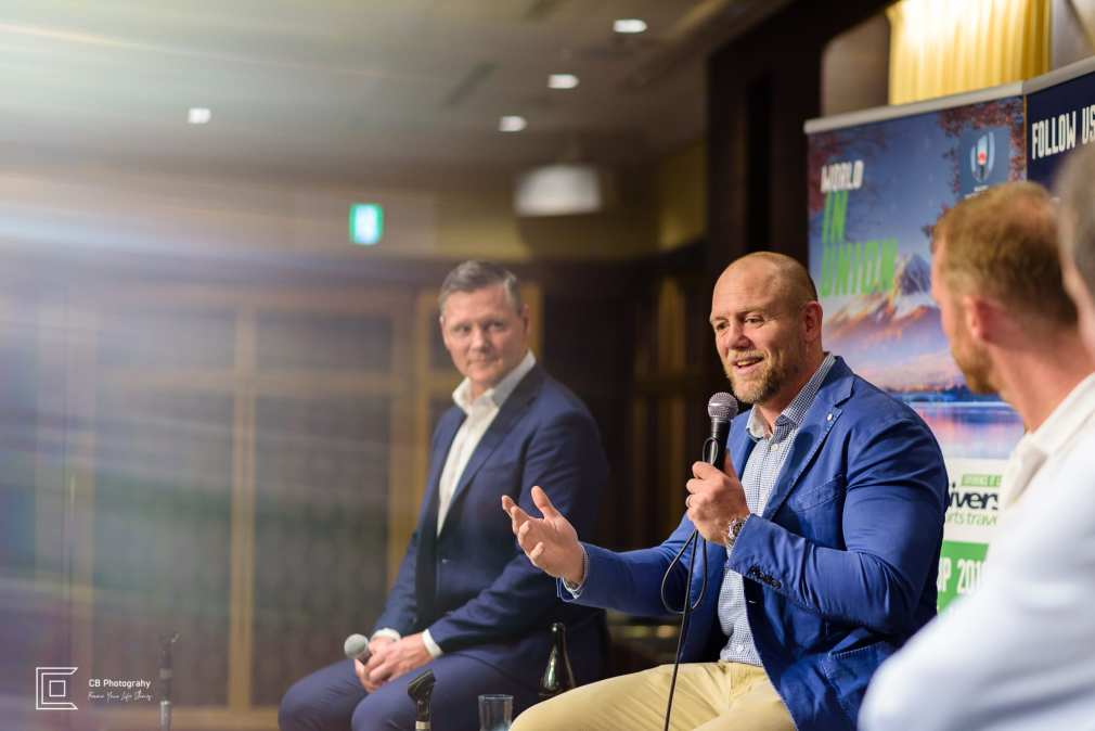 Mike Tindal speaking during a a corporate event in Tokyo, image by Cristian Bucur