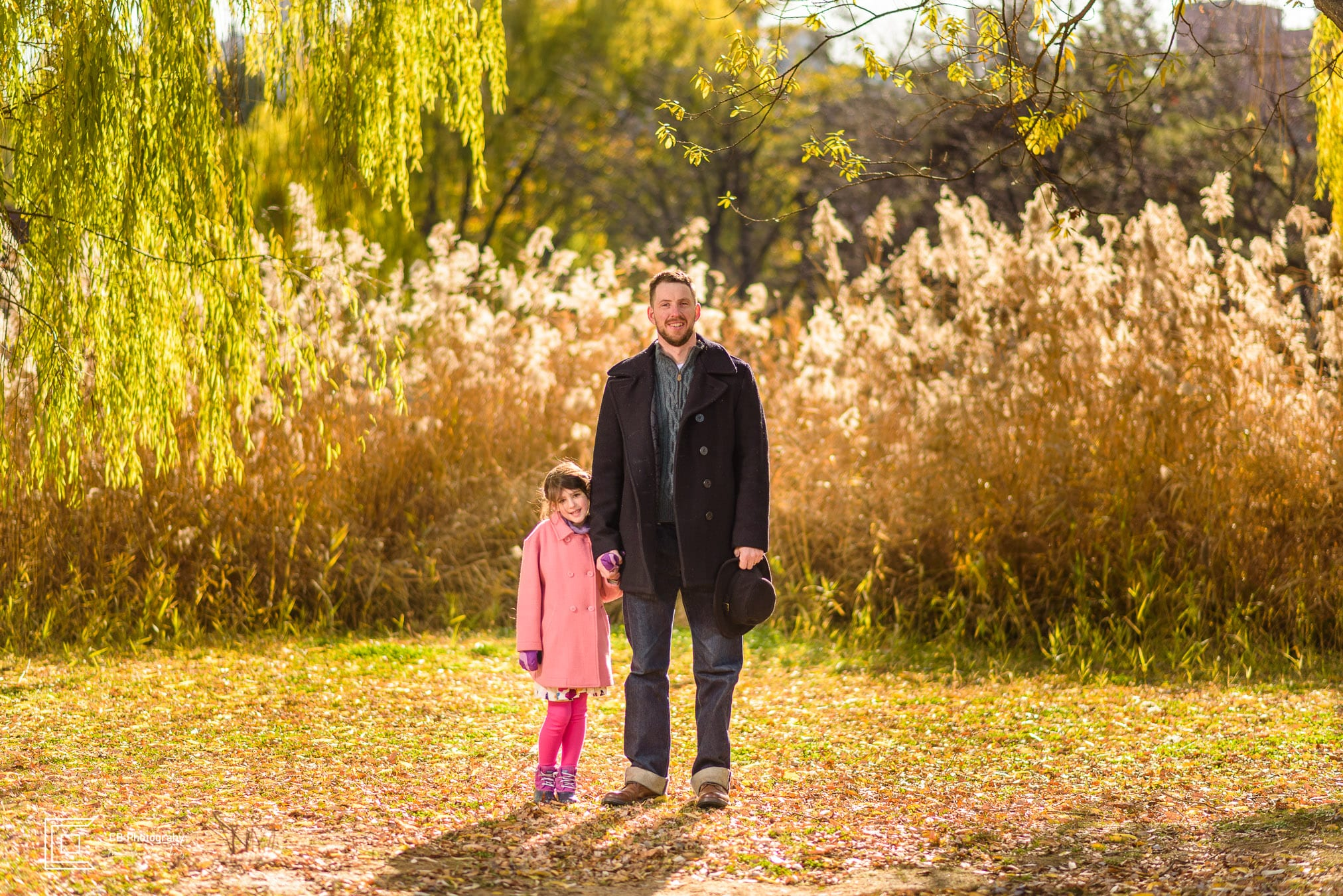 Father and daughter portrait, image taken b the Tokyo Photographer Cristian Bucur