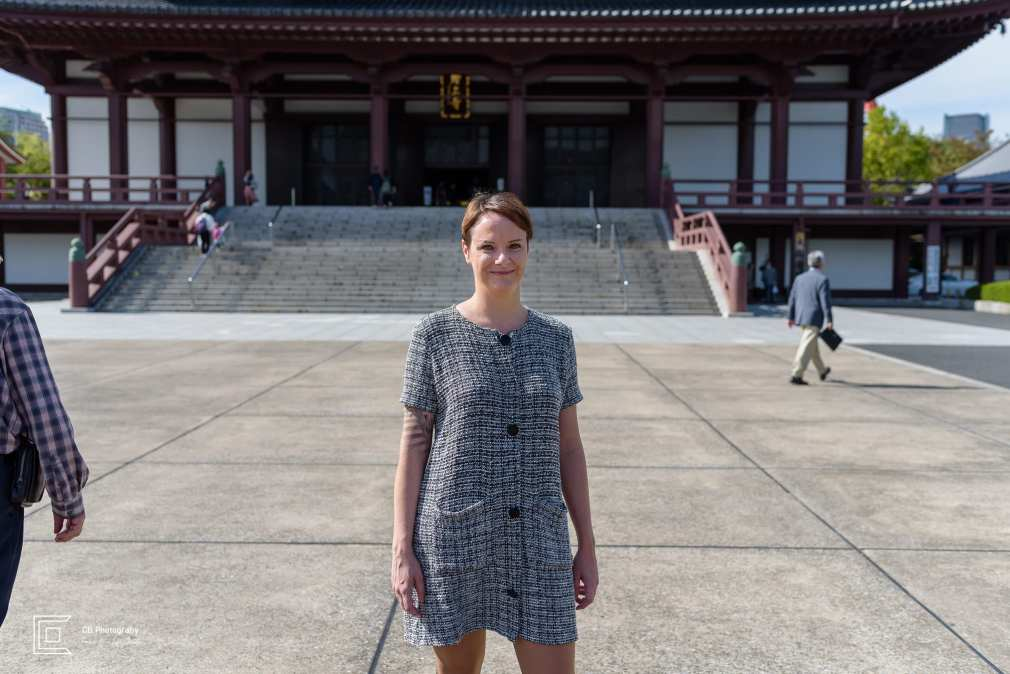 Portrait at Zijoji Temple by Tokyo vacation photographer Cristian Bucur