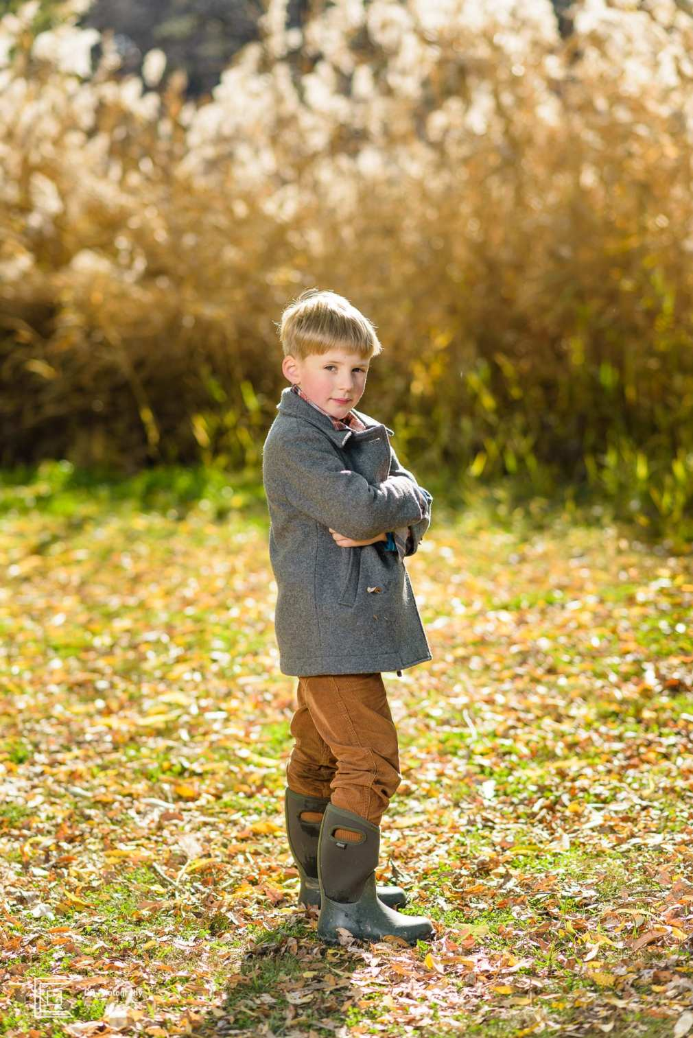 Boy portrait taken during a family shoot by the Tokyo photographer Cristian Bucur