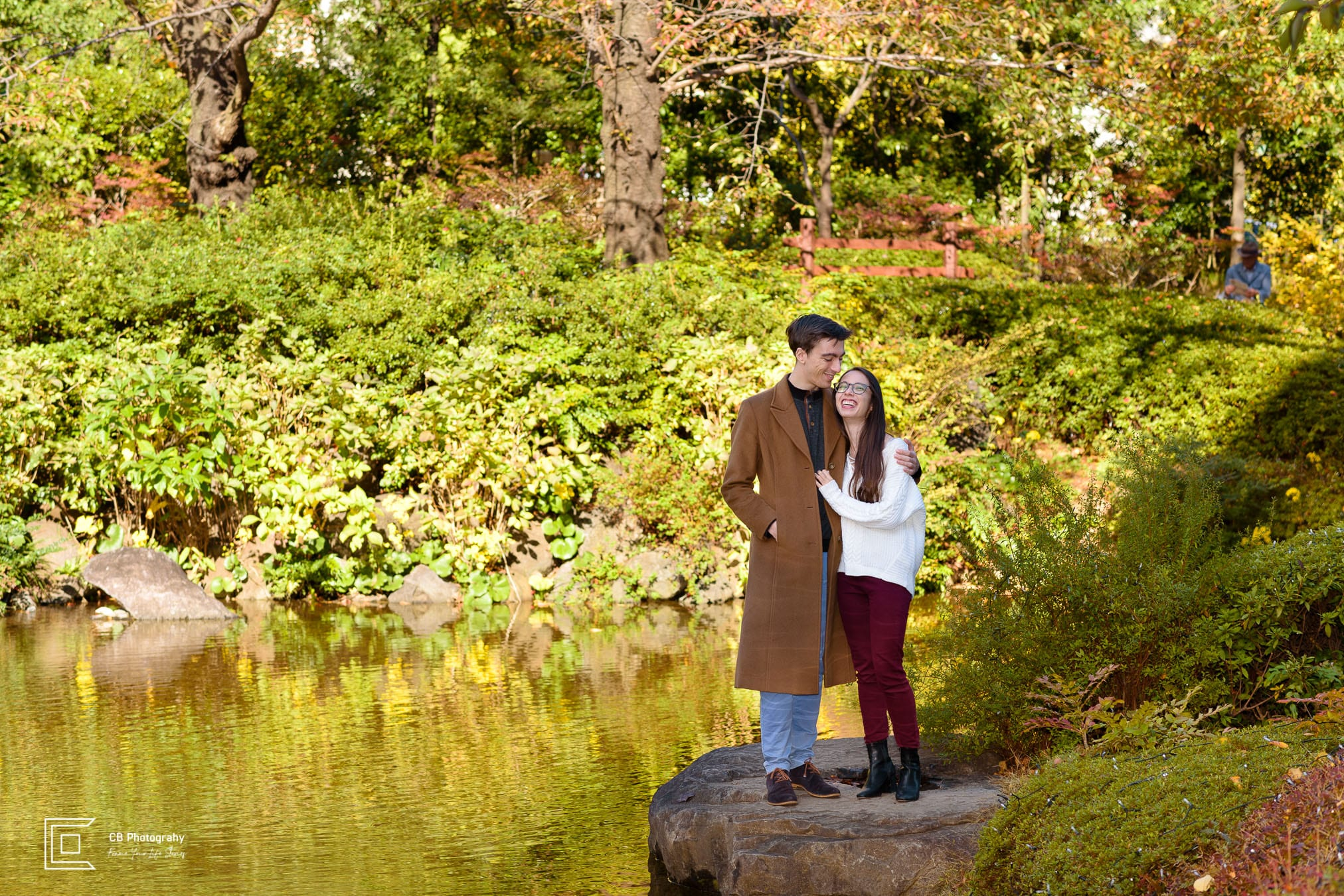Couple portrait in Roppongi by the Tokyo photographer Cristian Bucur