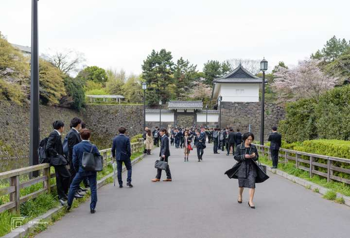 Entrance to the Imperial Palace Tokyo