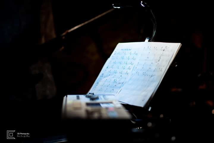 Music sheet details taken during Catherine Forte debut show