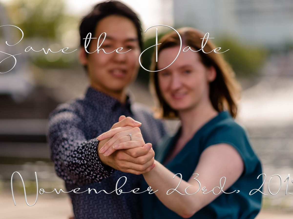 Couple Portrait for Save The Date photo session