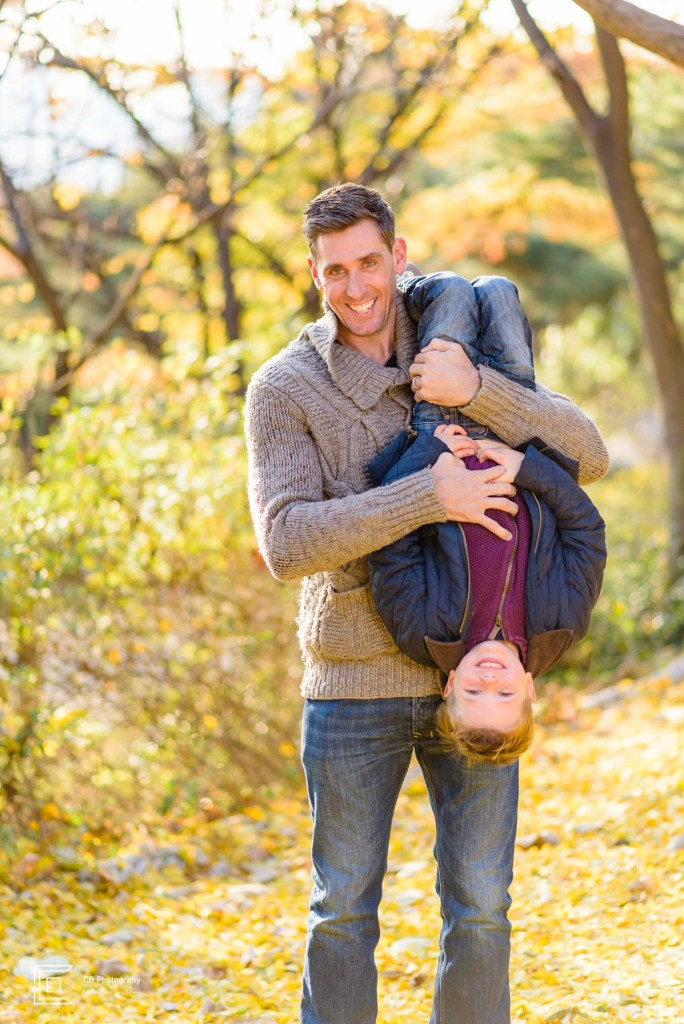 Fall family photography session