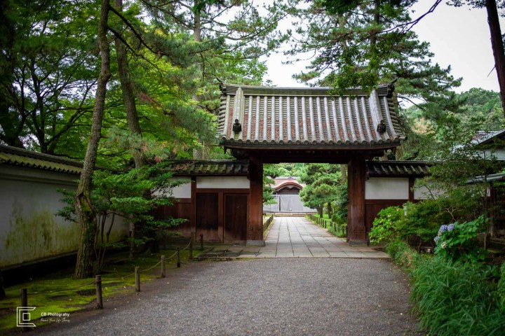 Gomon Gate at Sankeien Garden