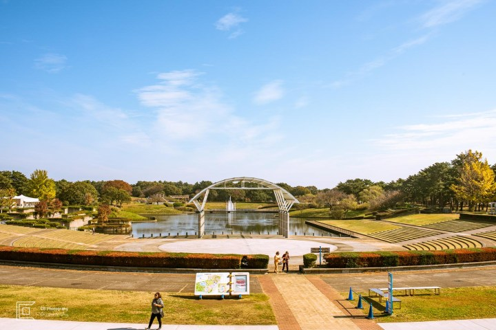 Hitachi Seaside Park- Lake View