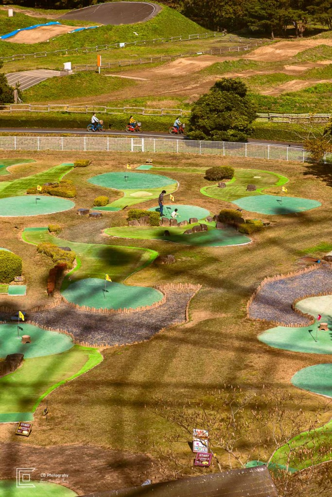 Mini Golf Garden at Hitachi Seaside Park