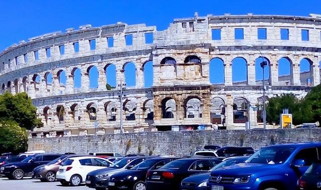 Excursie la Pola, ,,Roma Croatiei,,