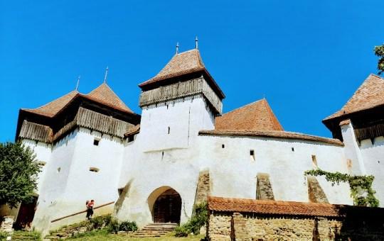 Viscri, un sat idilic din centrul Transilvaniei
