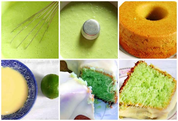 receita de bolo de iogurte com gelatina de limão