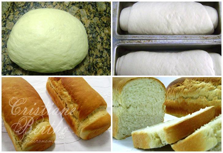 receita de pão caseiro delicioso