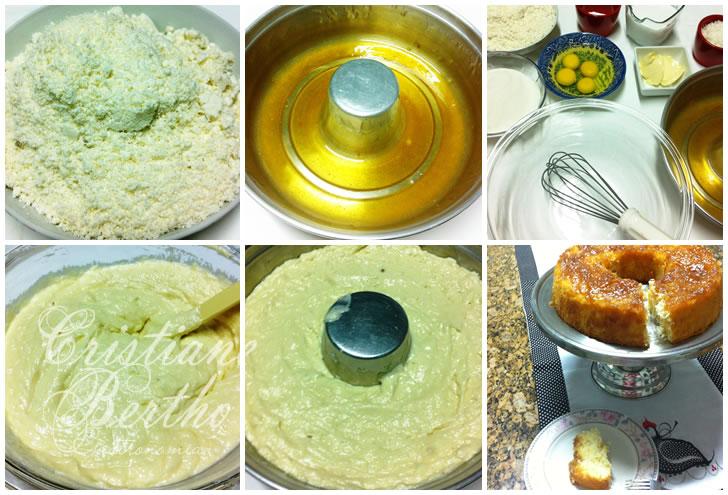 receita de bolo de mandioca ou macaxeira