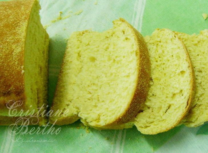 Receita de broa preparada com milhoho
