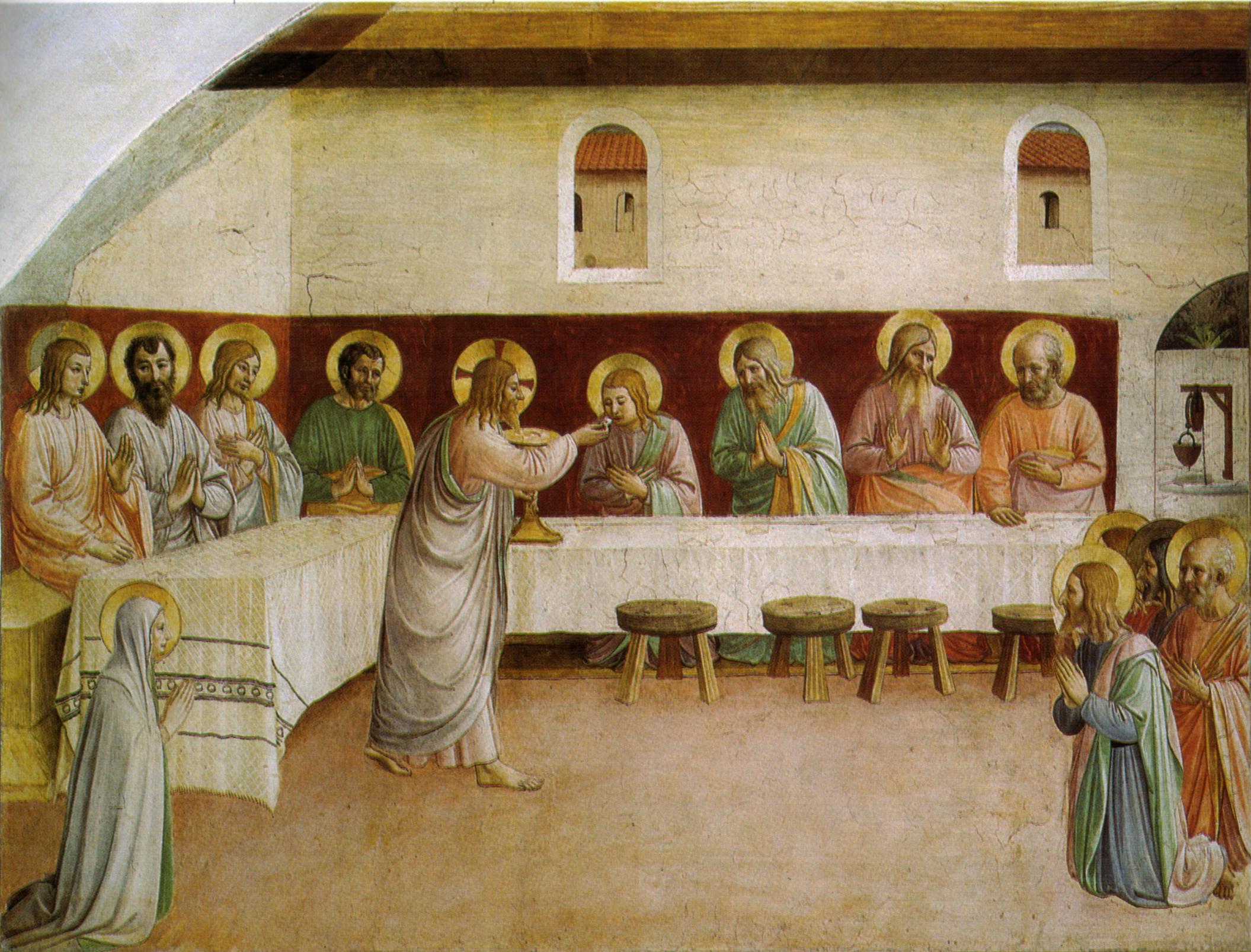 Ciò che accadde all'Ultima Cena fa chiarezza: si può accedere all'Eucarestia solo se purificati