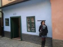 Rua do Ouro, casa de Franz Kafka.