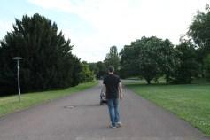 Parque Killesberg em Stuttgart