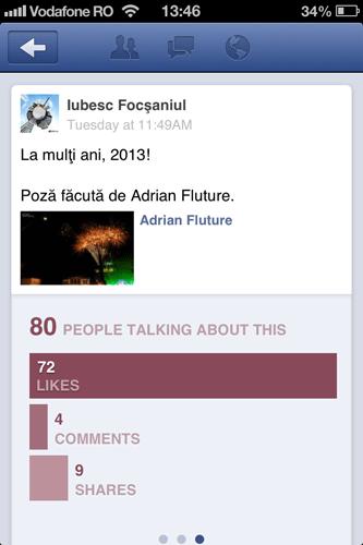 facebook pages pentru ios4