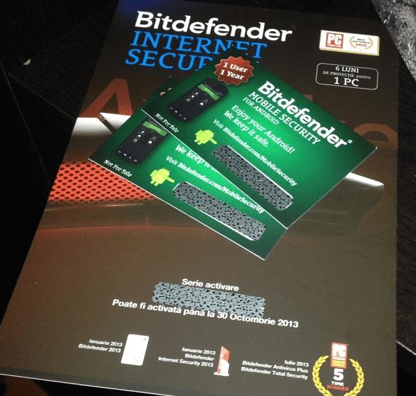 antivirus bitdefender pentru android si windows