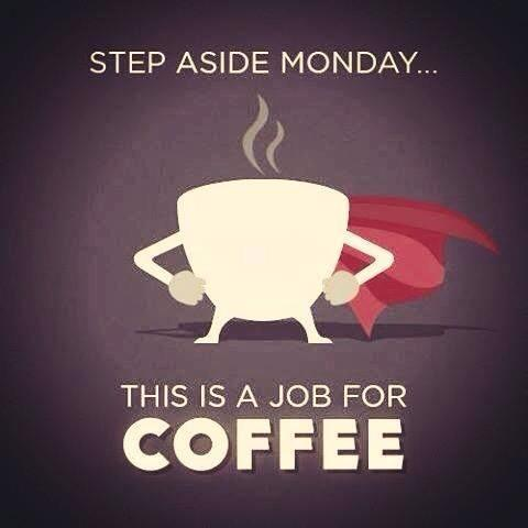 step aside monday - coffee