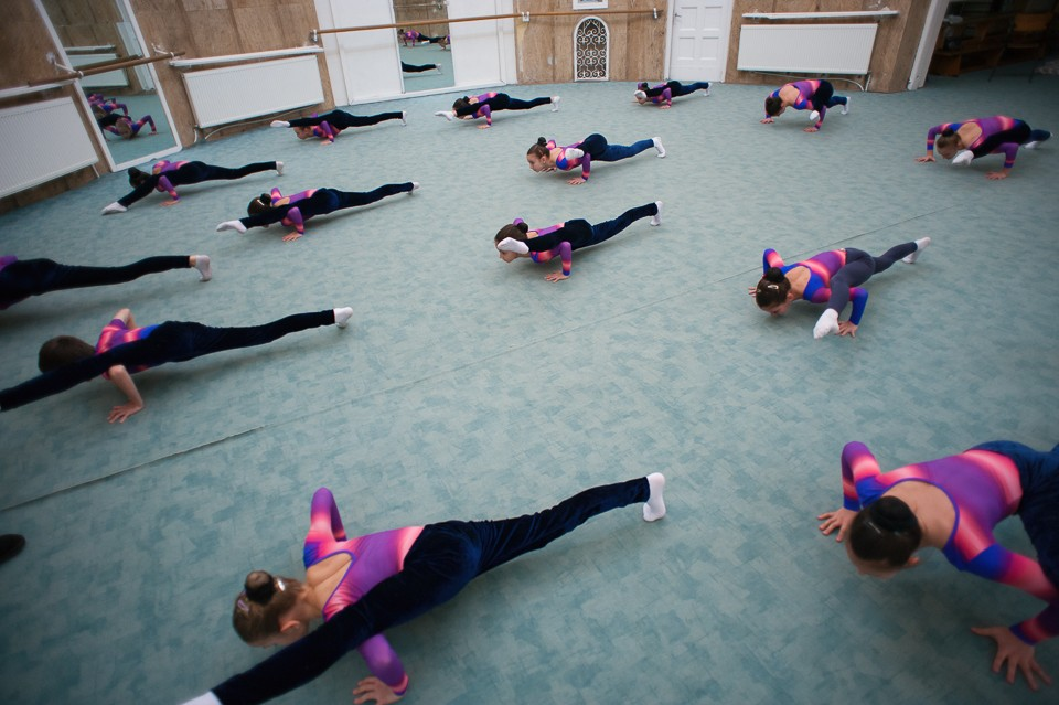 antrenament junioare gimnastica 14