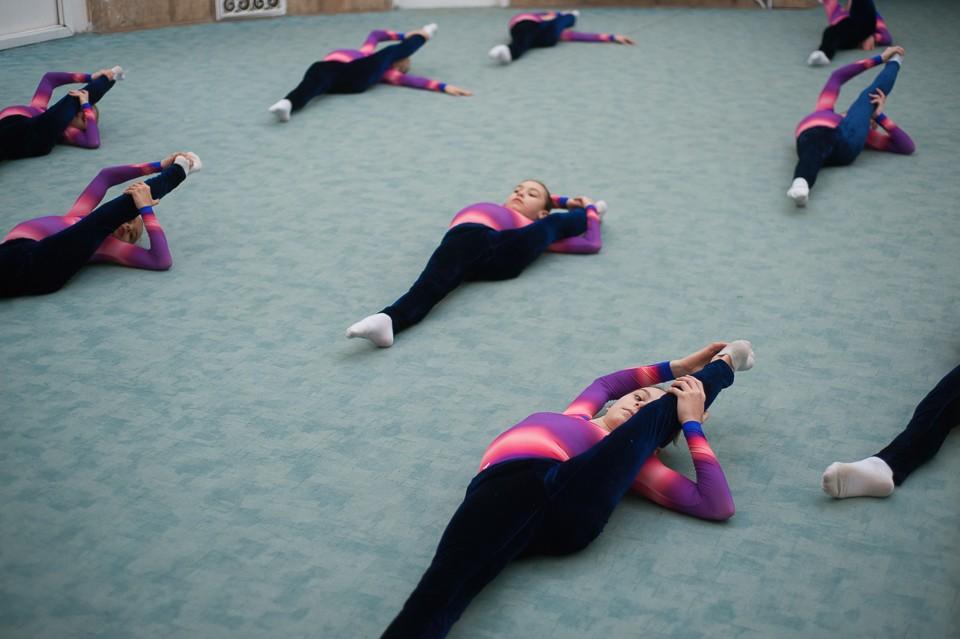antrenament junioare gimnastica 5