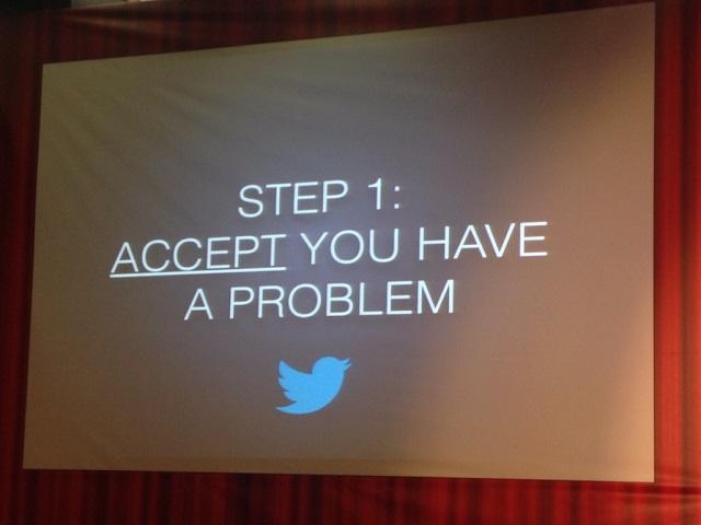 accept you have a problem