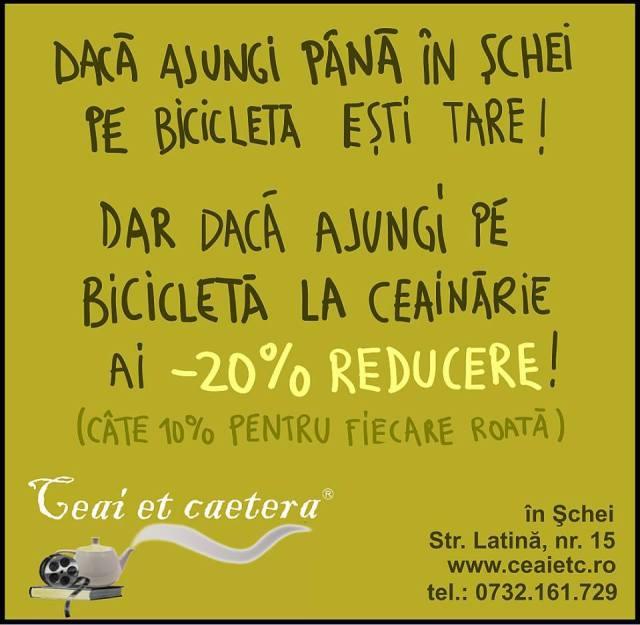 ceai et caetera discount biciclisti