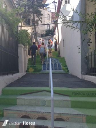 strada xenofon - bucuresti - trepte pictate (1)