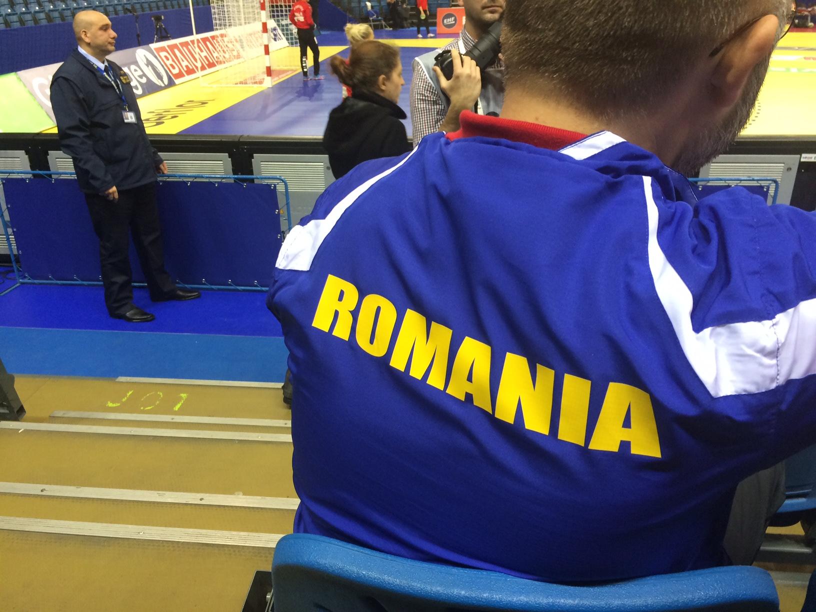 Romania - Danemarca la Campionatul European de Handbal feminin (2)