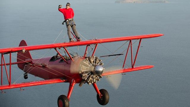 Sveatoslav Vizitiu a zburat pe aripile unui avion cu vodafone firsts