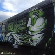 trenul cu graffiti din Cluj 5