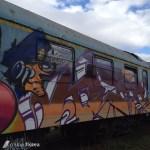 trenul cu graffiti din Cluj 7
