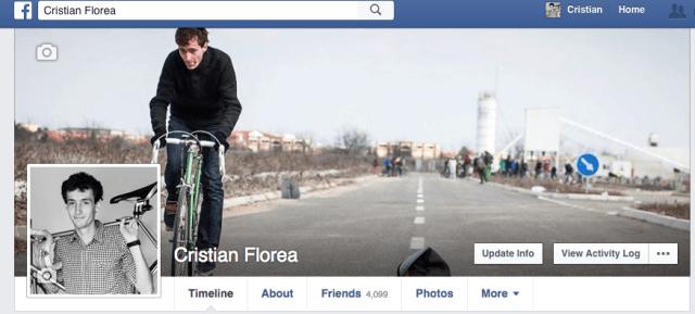 profil facebook cristian florea