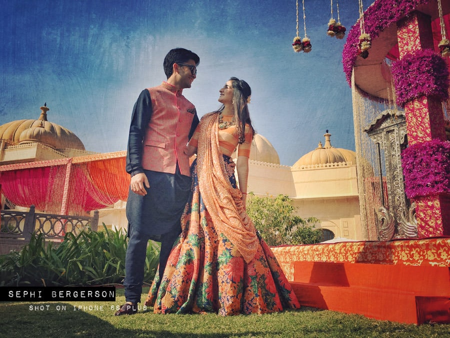 nunta fotografiata doar cu iPhone-ul 5