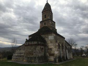 biserica de la densus - printarahategului