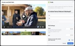 sondaje in clipuri video - facebook