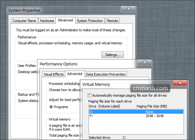 Mută memoria virtuală