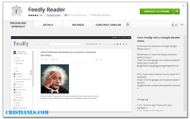 Feedly Reader