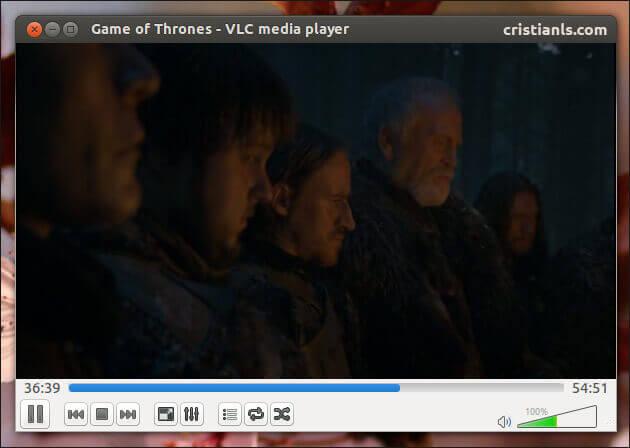 VLC Media Player in Ubuntu 13.04