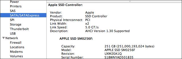 PCIe MacBook Air
