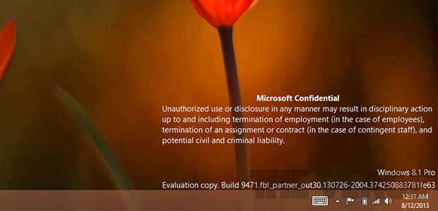 Windows 8.1 - Build 9471