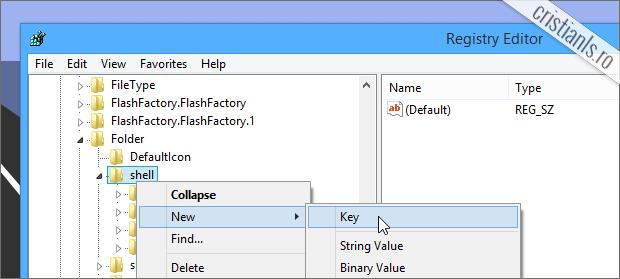 Shell » New Key