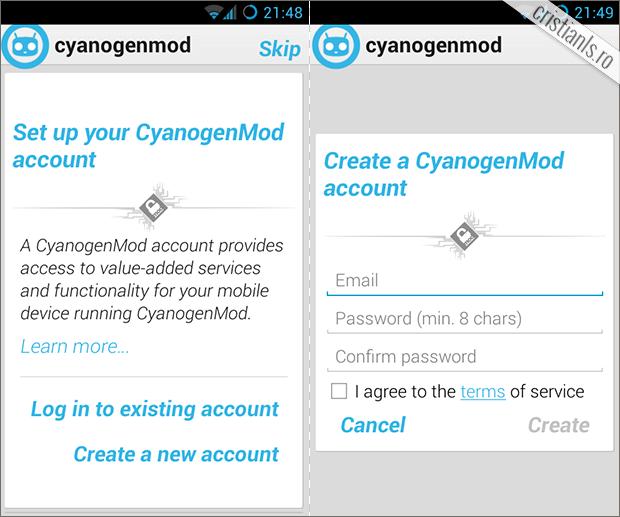 conectare cont syanogenmod