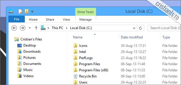 cum se ascunde un folder din calculator