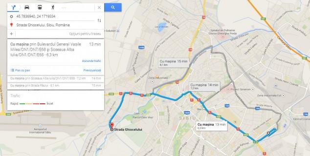 noul google maps
