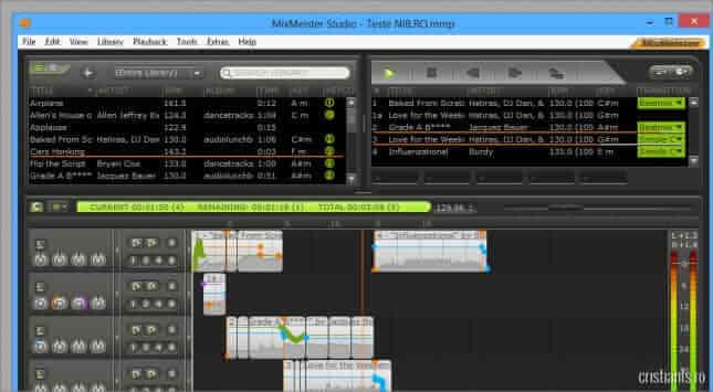 mix meister studio program de mixat melodii